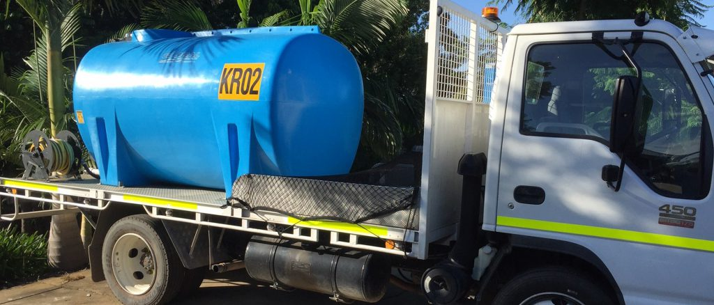 Water Deliveries for  Domestic and Commercial use